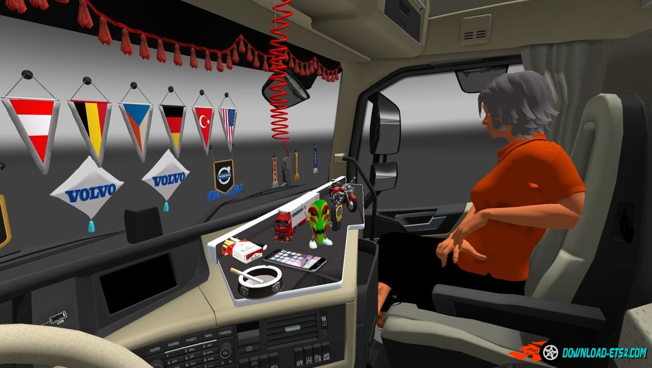 cabin the proudly truck accessories mod american cabins simulator presents phantom remix ats