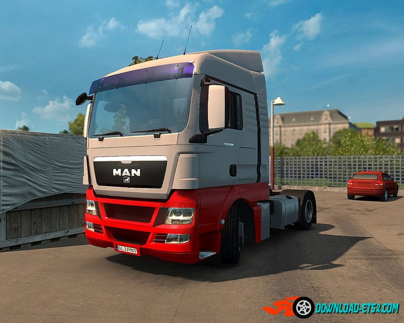 MAN TGX Reworked v2.0 by MADster