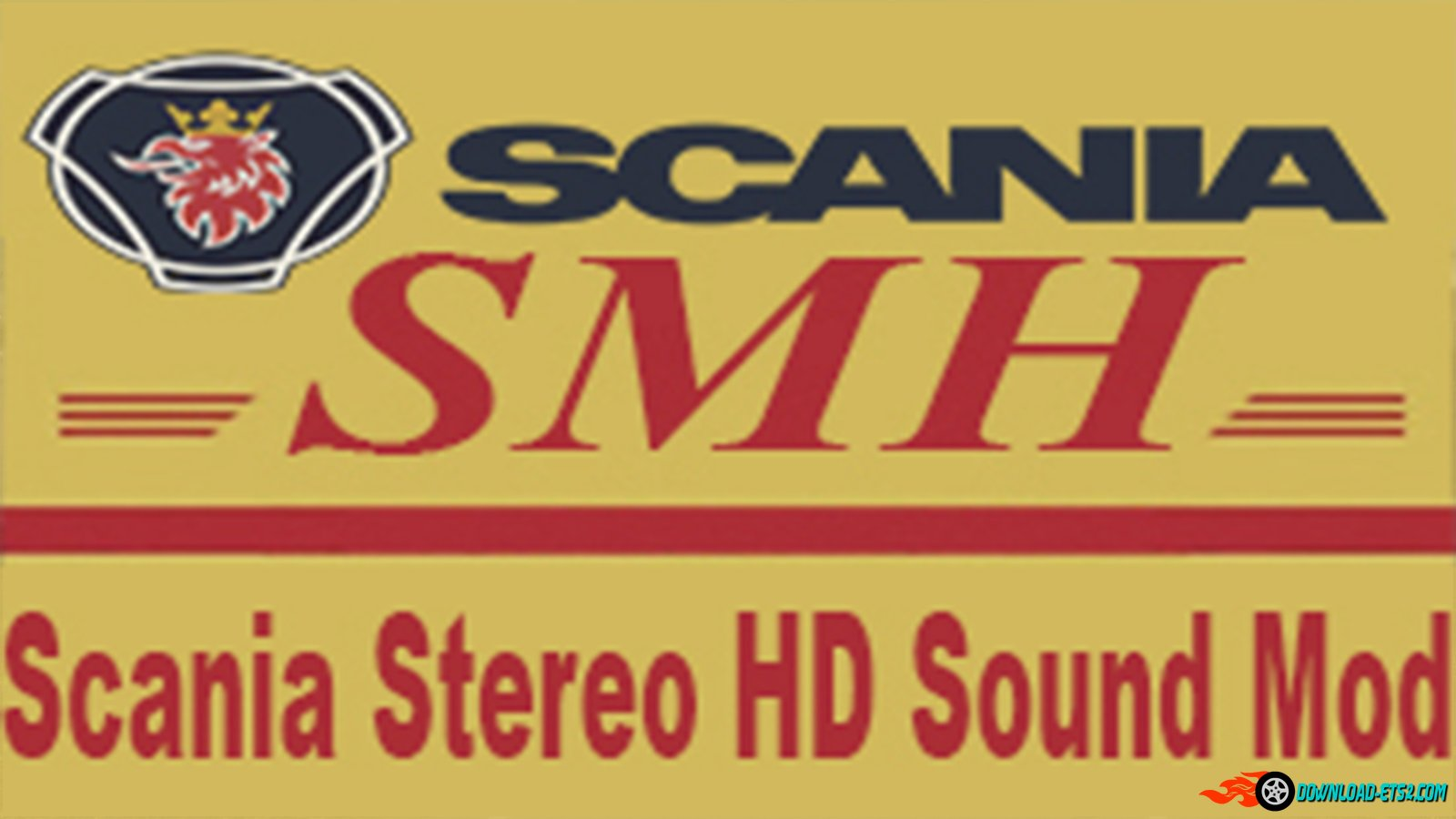 SmhKzl - Scania Stereo HD Sound Mod