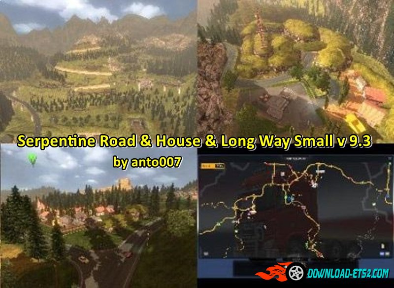 Serpentine Road & House & Long Way Small v 9.3