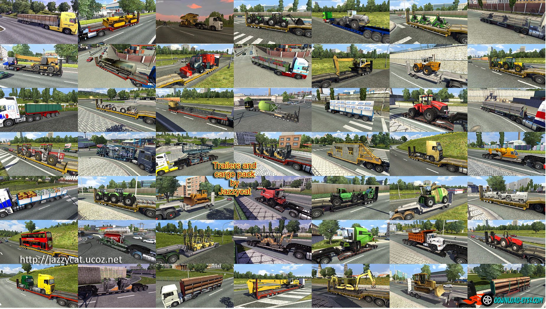 Trailers and cargo pack v3.6.1 by Jazzycat