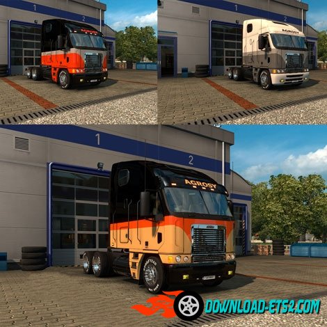Freightliner Agrosy with 4 mask skin