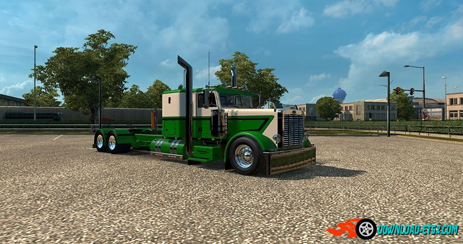 """Rethwisch Transport"" skin for Peterbilt 389"