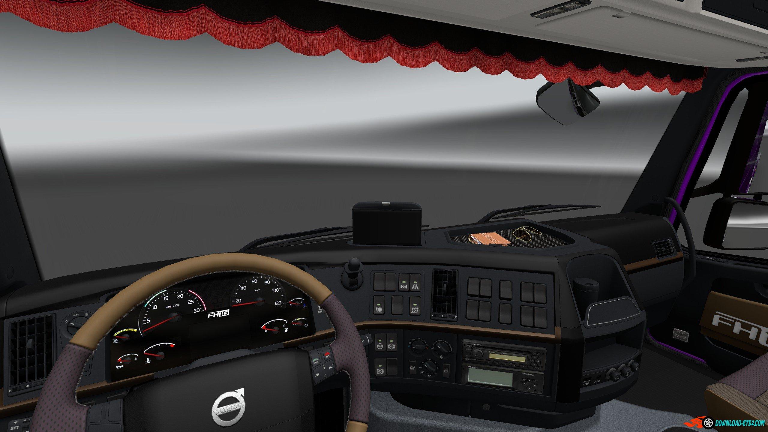 SCS Volvo FH16 2009 Interior/Exterior Rework