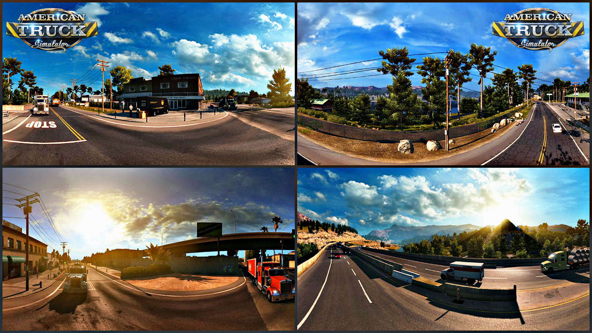 American Truck Simulator: California - Many Projects, One Goal