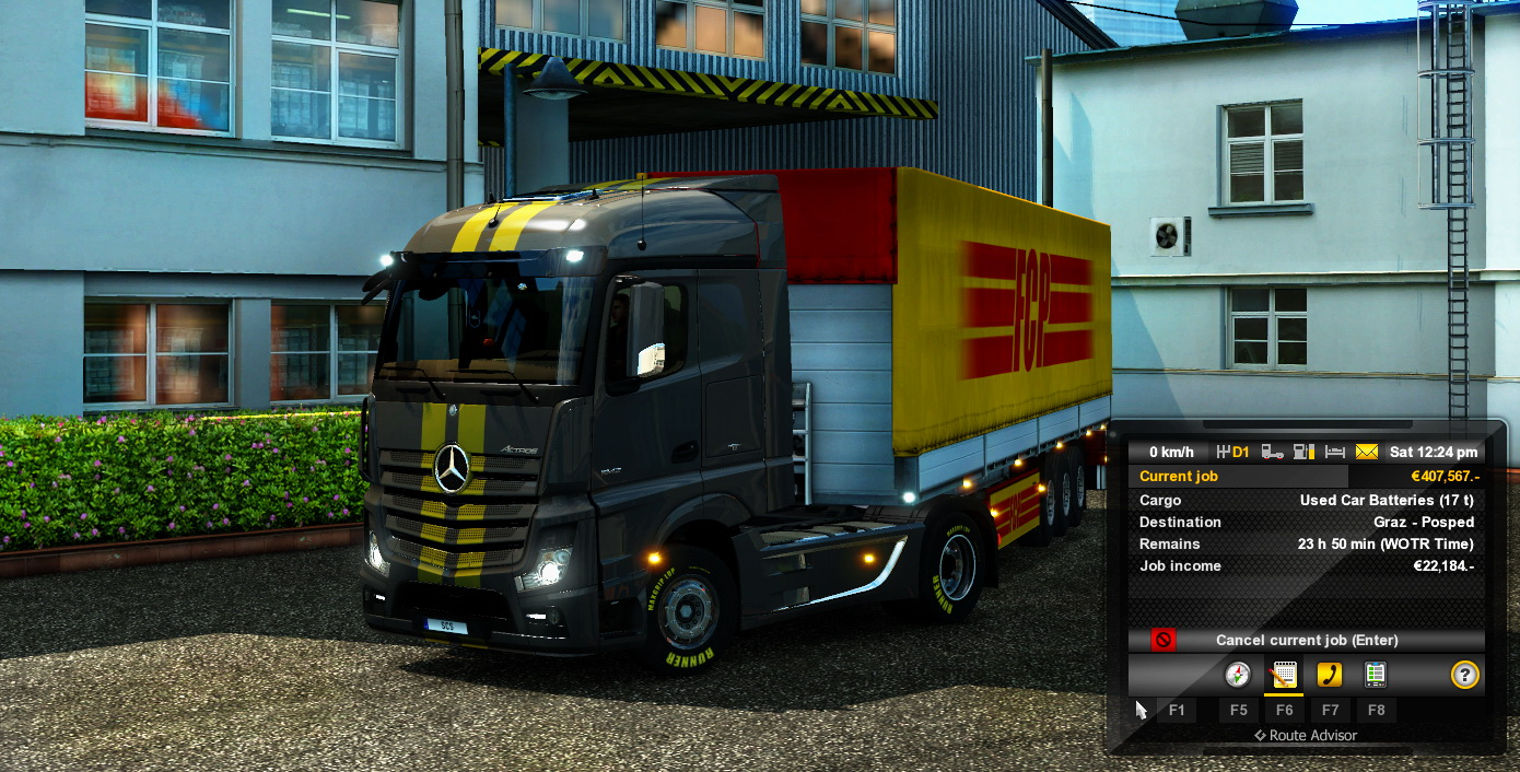 Parallel Jobs Introducing the Concept of World of Trucks Time