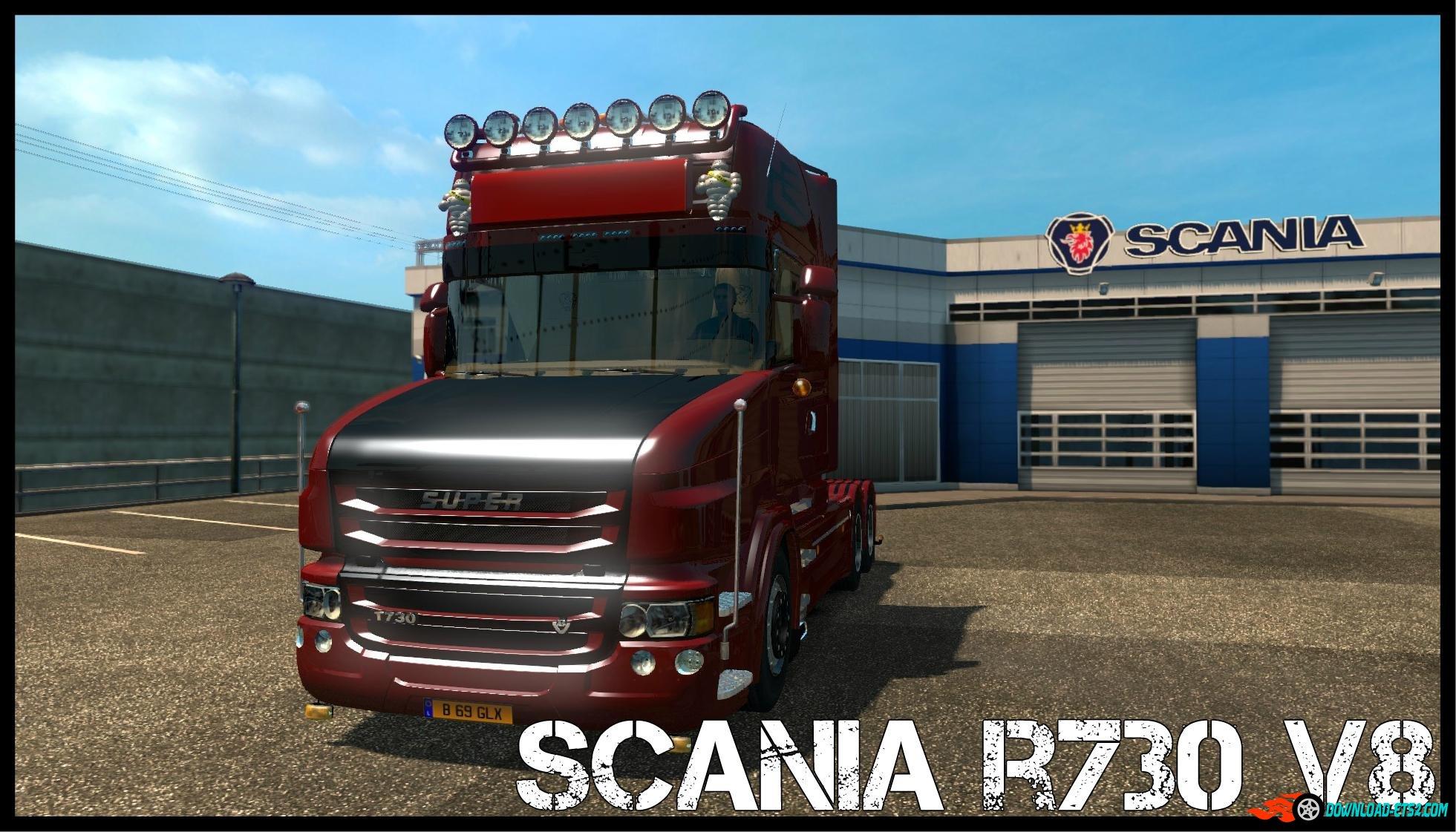Description about scania t 730 v8 1 21x