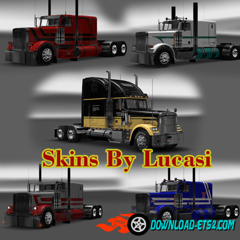 Real Livestock Hauler Skins By Lucasi and Skiner