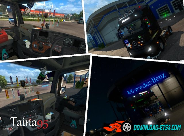 Mercedes Actros MP4 v 1.8