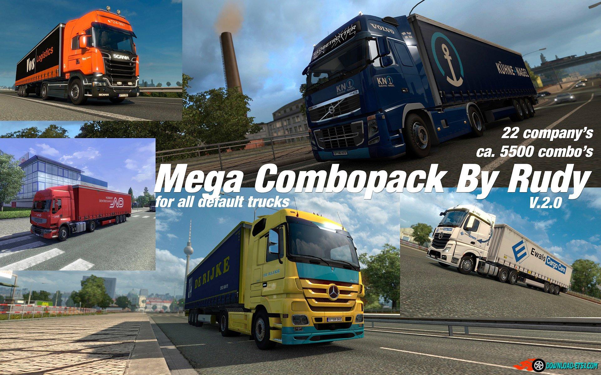 Mega Combopack mod  v2.0 by Rudy