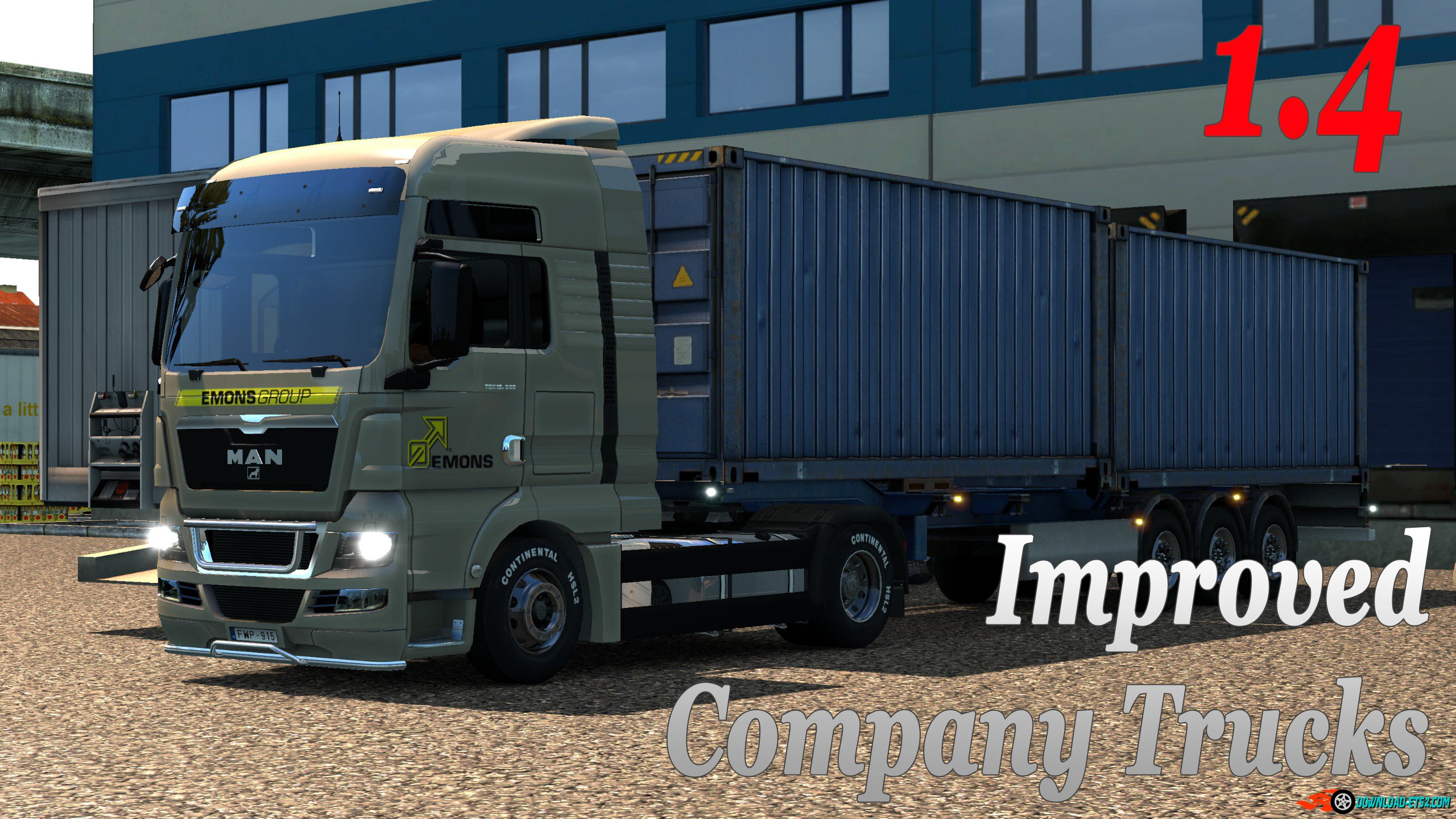 Improved company trucks v1.4
