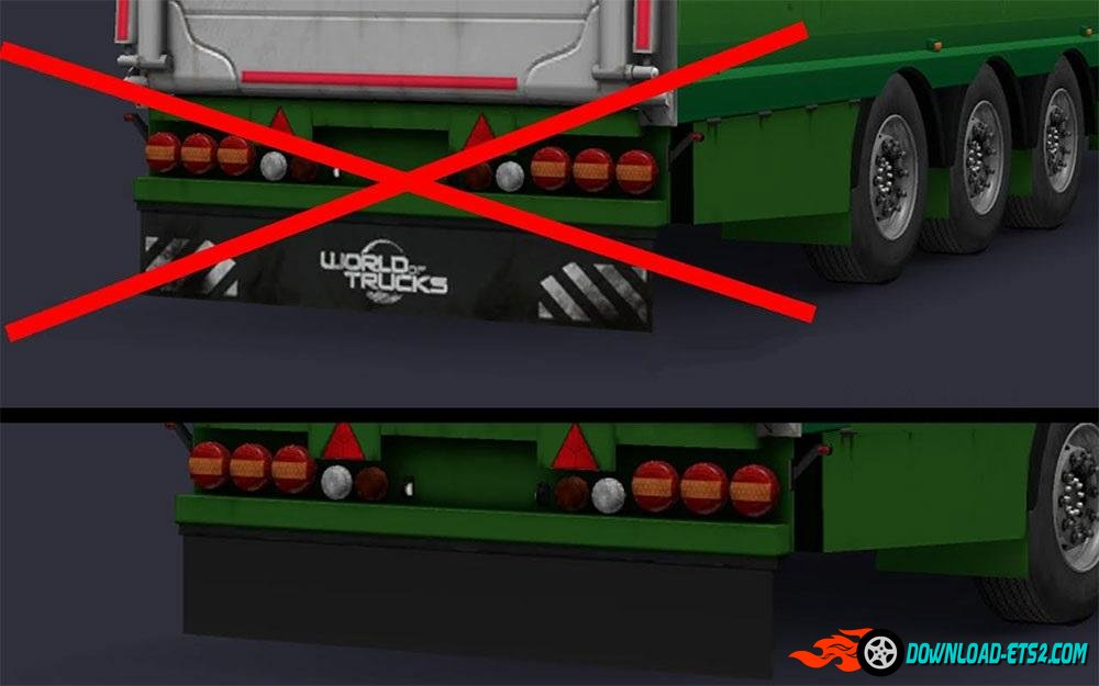 "Removed the ""WoT"" Logo in the Livestock trailer"