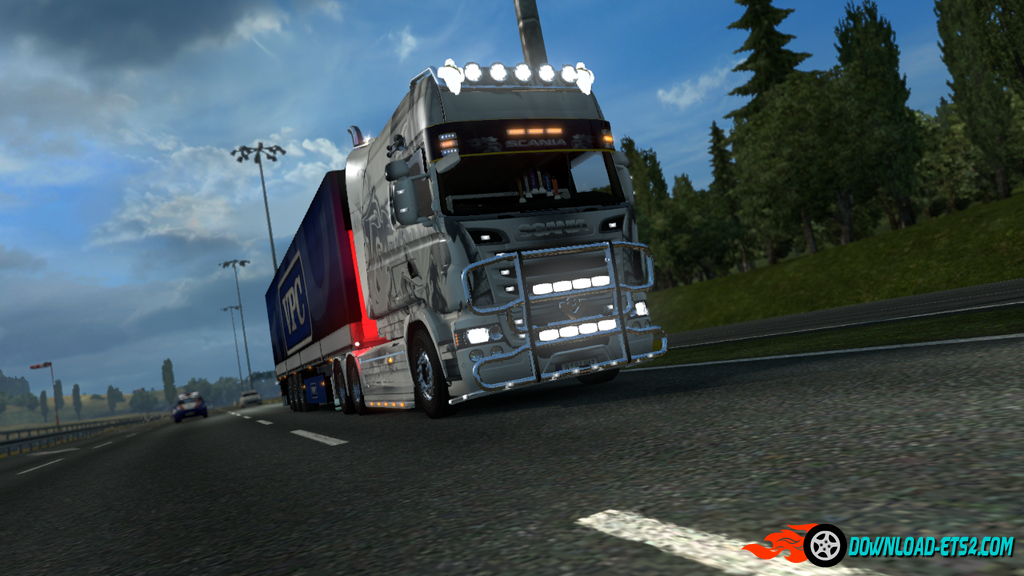 New V8 sound pack for the  Scania V8 & L6  V.5.3