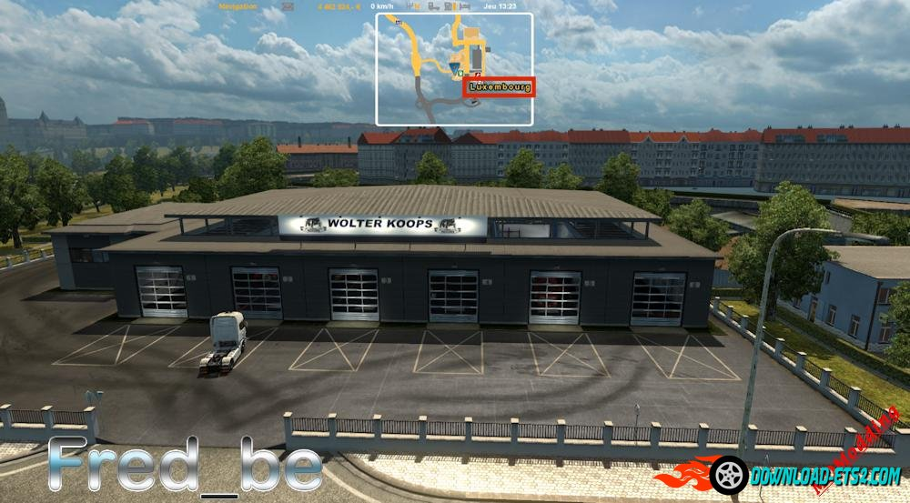 Big Garage Wolter Koops v1.0 for ETS 2