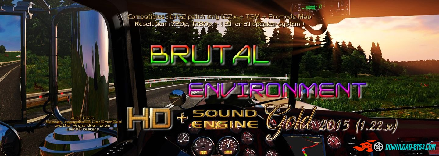 Brutal Environment HD and Sound Engine Gold 2015 1.22.x by Stewen