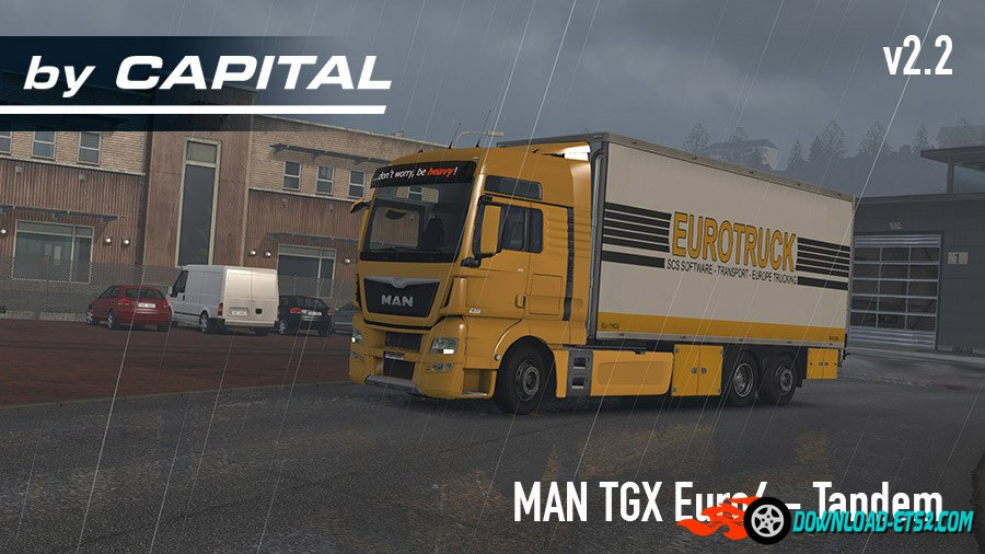 MAN TGX Euro 6 Tandem v2.2  by Capital