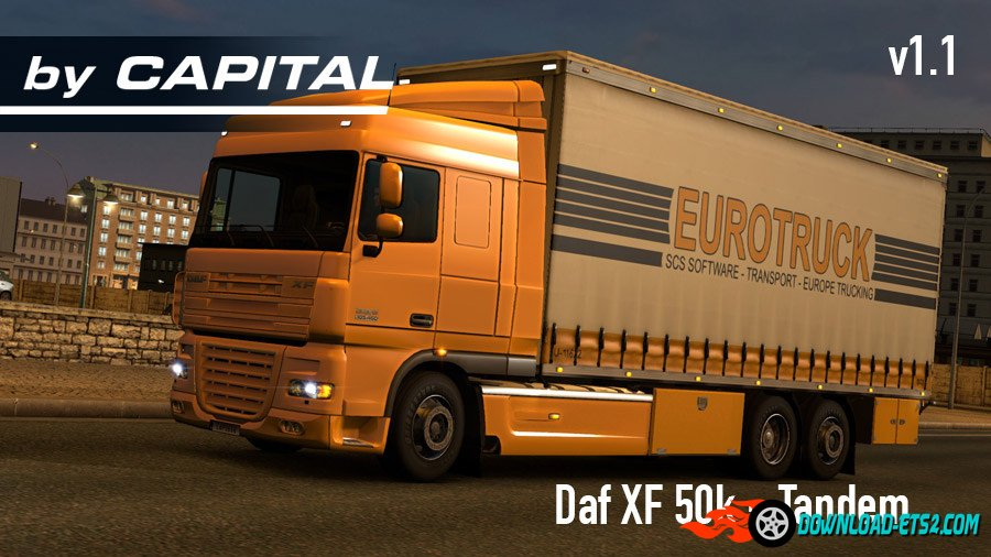 Daf XF 50k Tandem v1.1 by Capital