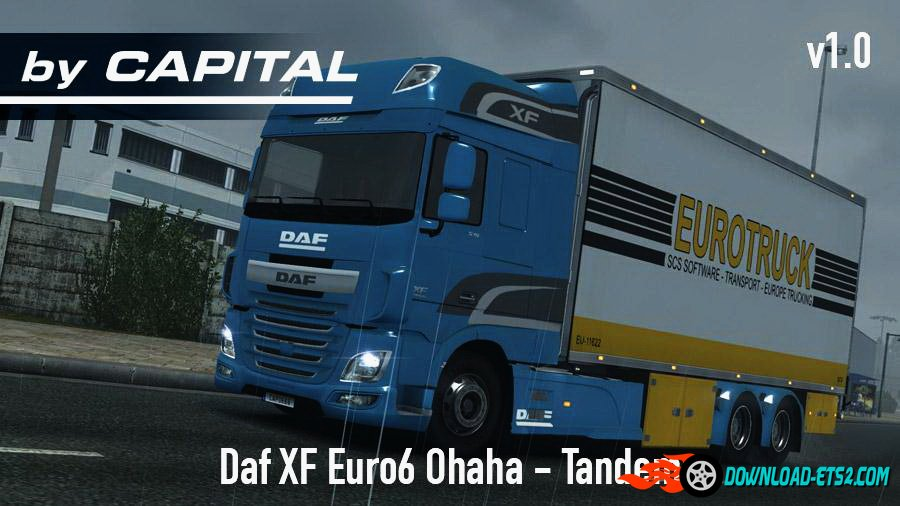Daf XF Euro 6 Ohaha Tandem v1.0