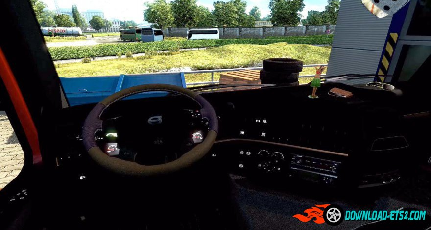 Animated GPS for Volvo FH16 2009 v1.0
