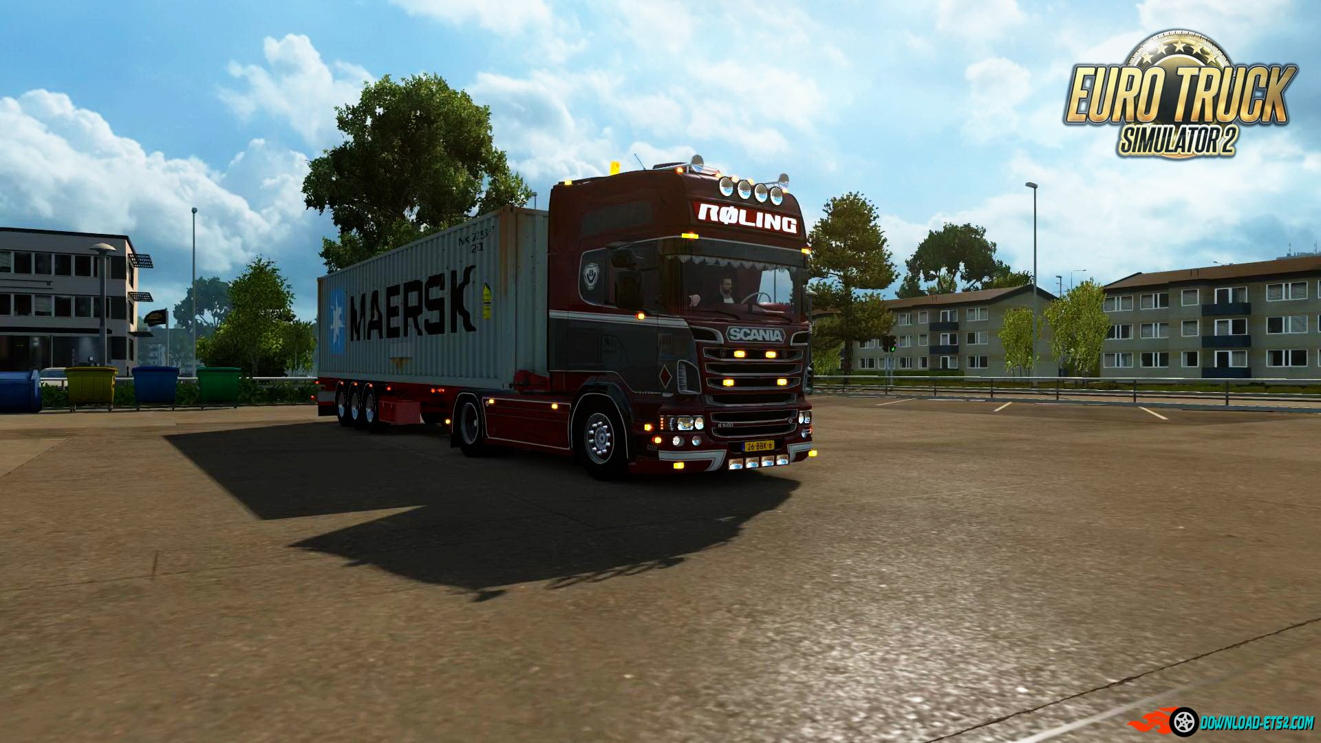 Scania V8 sound v8.5 by Kriechbaum