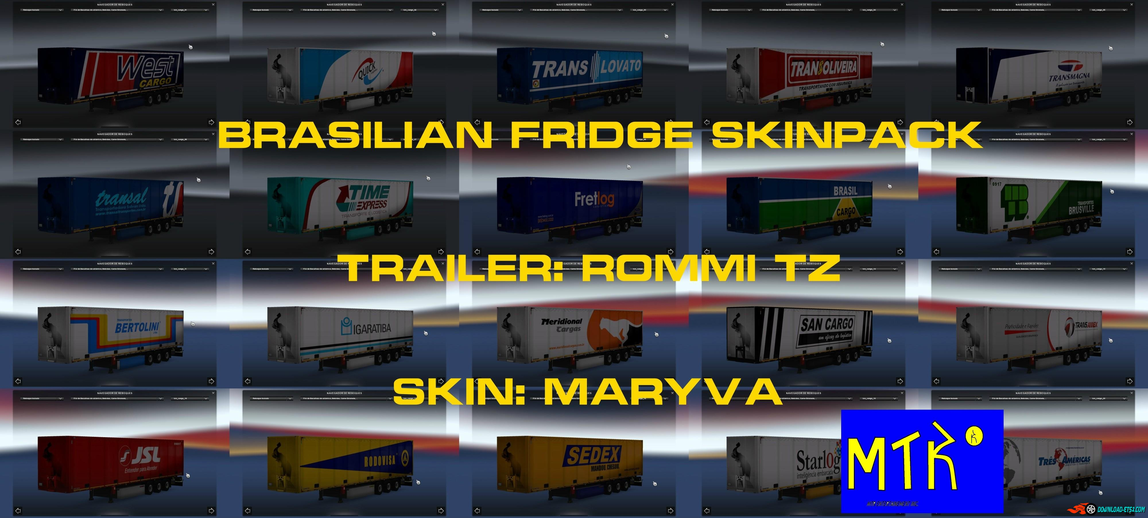 Brazilian Fridge Skinpack by Maryva