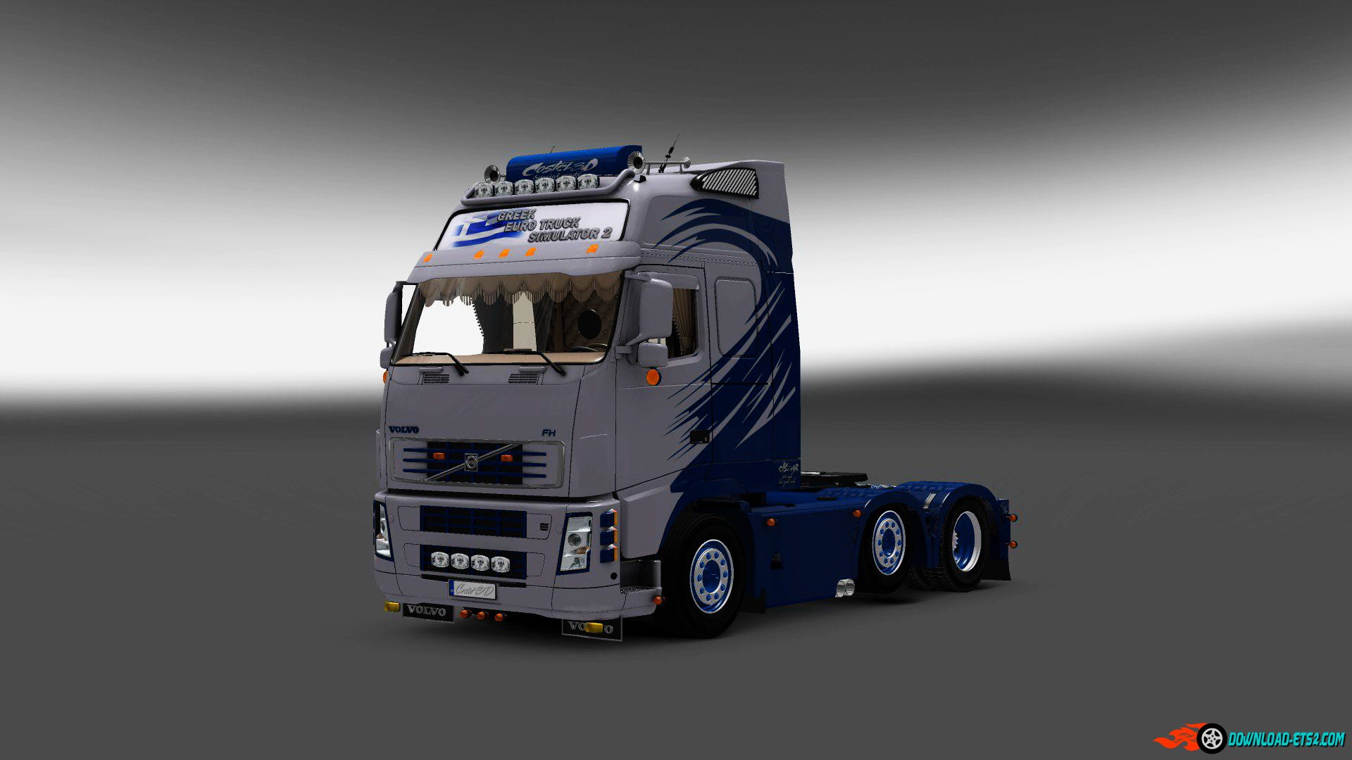 Volvo FH16 Greek + Interior v2.0