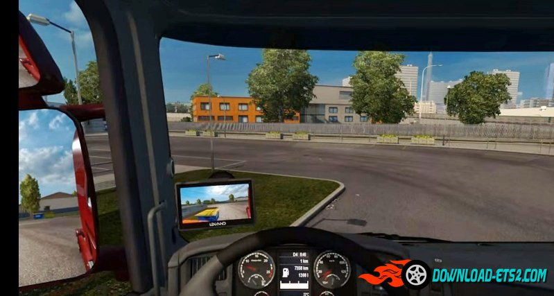 Reverse Cam (Scania RS & T by RJL)