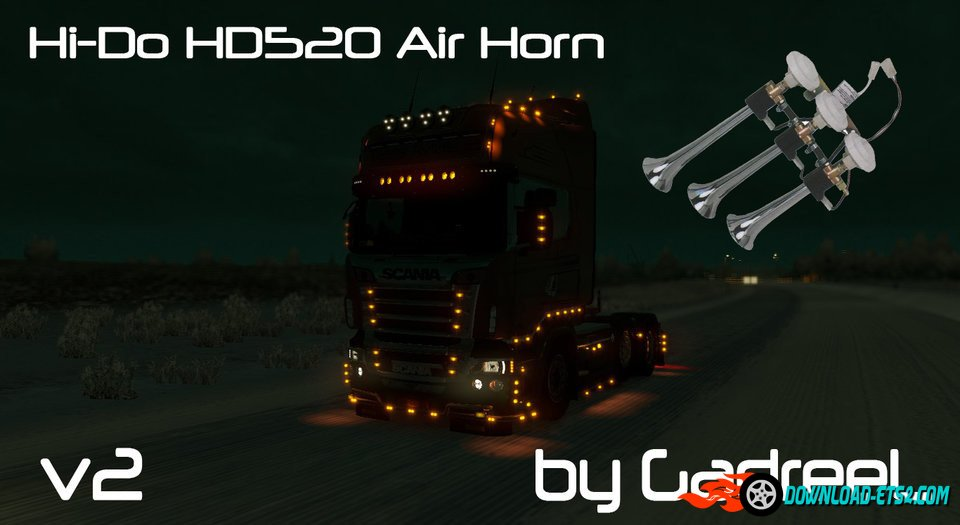 Hi-Do HD520 Air Horn v 2.0