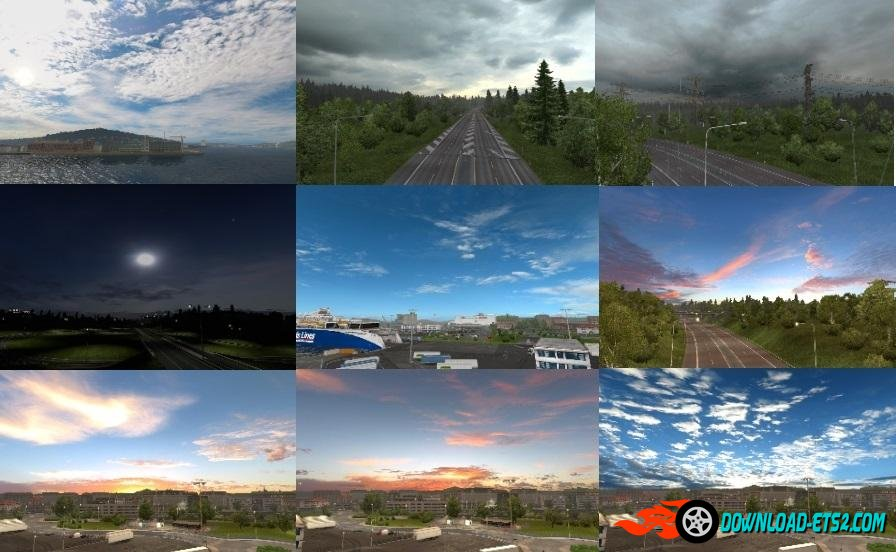 New Weather mod by Piva [1.22.x]
