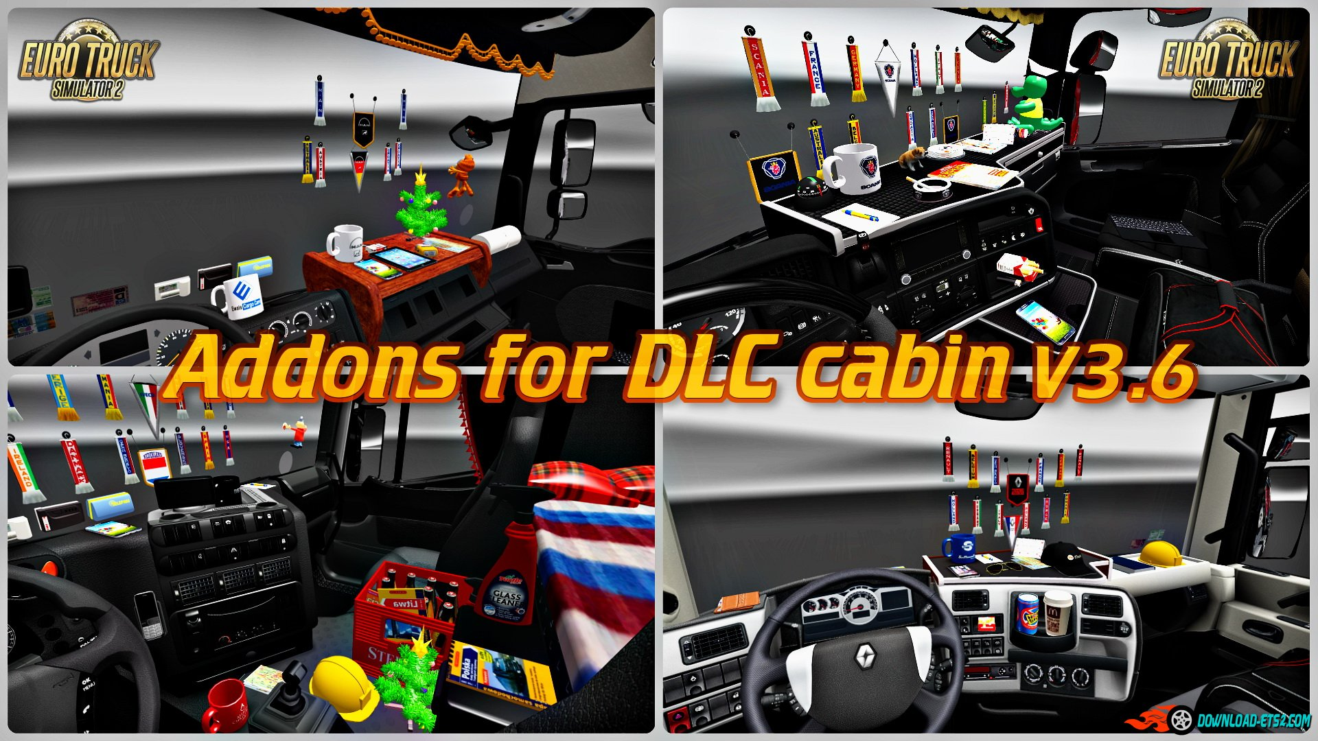 Addons for DLC cabin v3.6