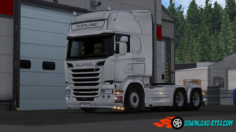 Scania Accessories Mod by powerkasi