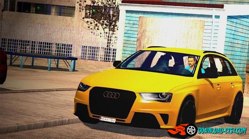 Audi RS4 + Interior v1.0 (Beta) by Lewiss