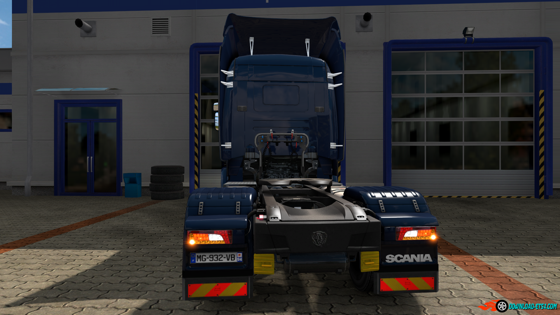 Scania Streamline backlights - lightmask reworked