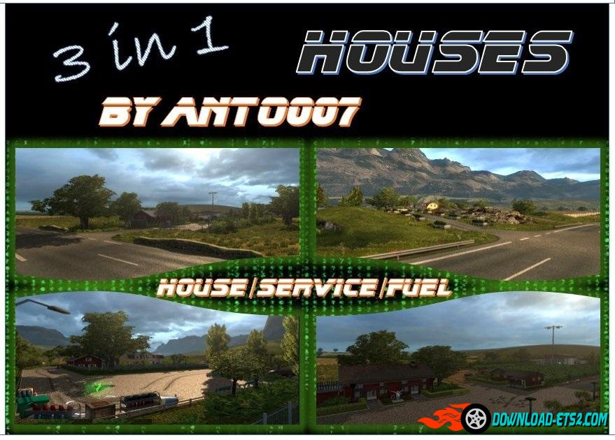 3 in 1 House by anto007