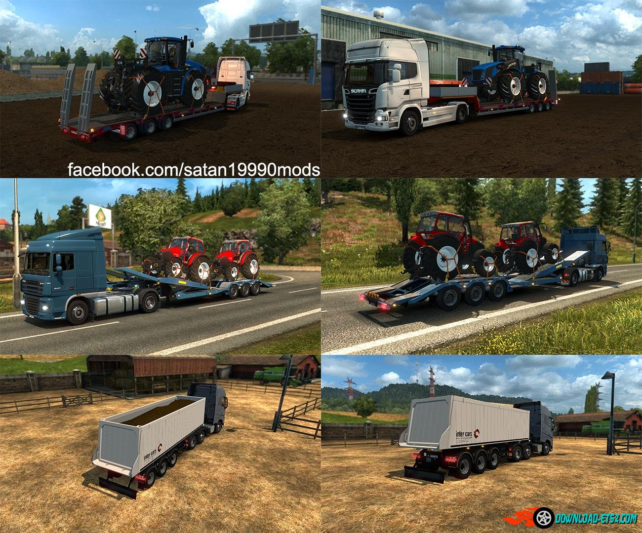 Agricultural Trailer Mod Pack v2.2 by satan19990