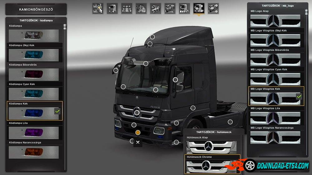 Mercedes Benz Actros MP3 Tuning (Update)