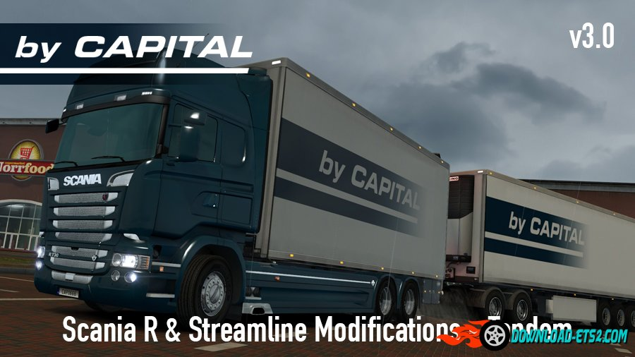 Scania R & Streamline by RJL Tandem v3.0 ByCapital