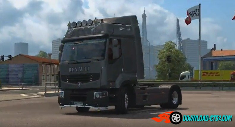 Renault Premium Accessory & Re-rendered Textures v 1.2