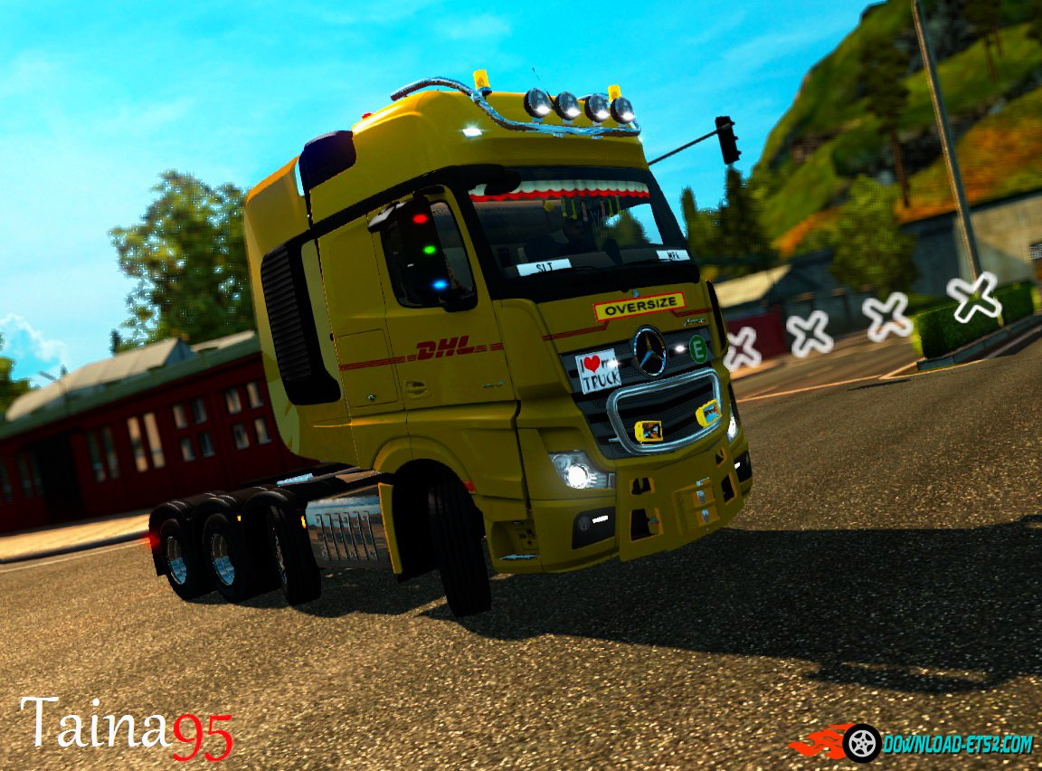 Mercedes Actros Mp4 V1.9