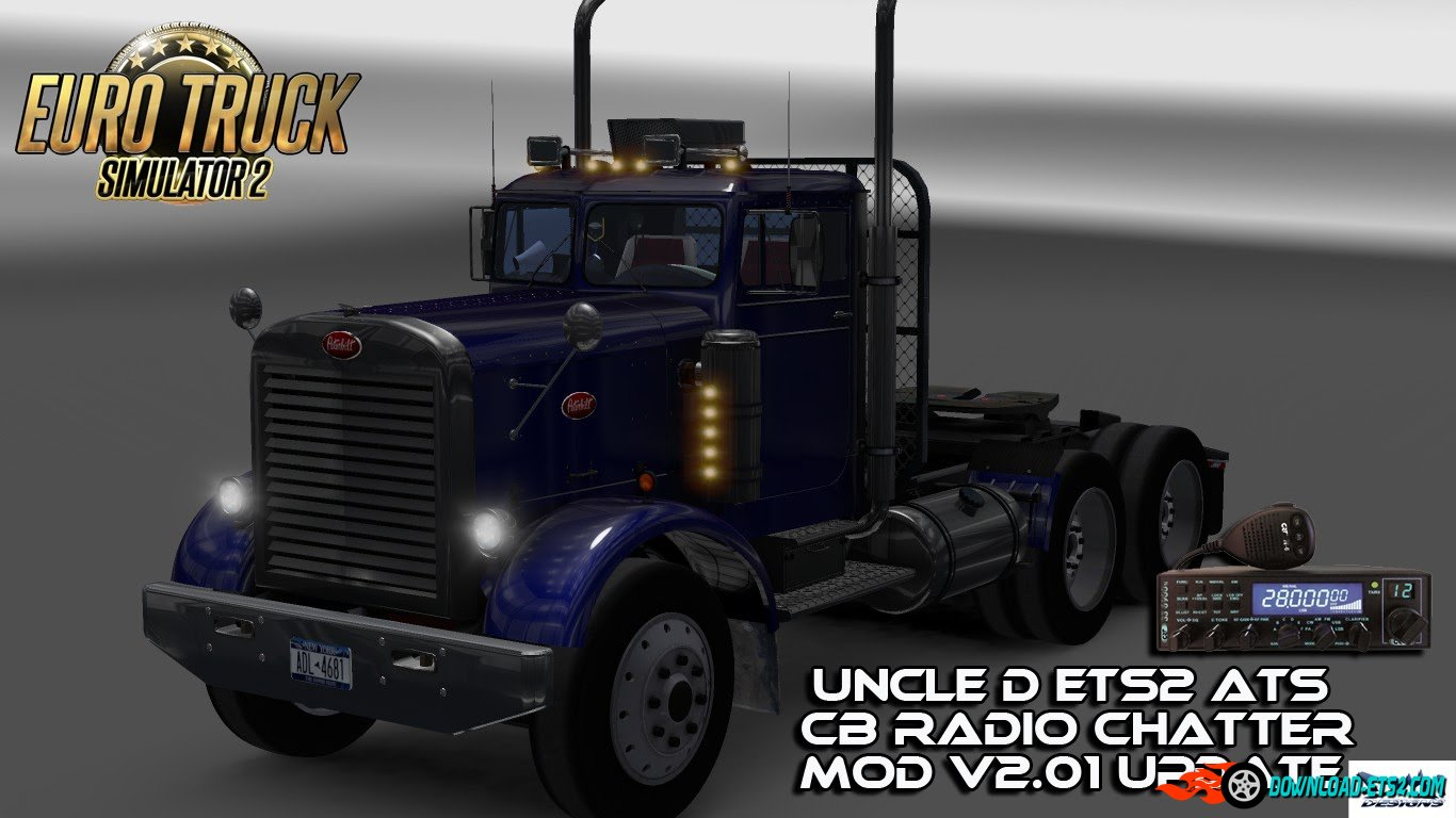 Uncle D ETS2 ATS CB Radio Chatter V2.01