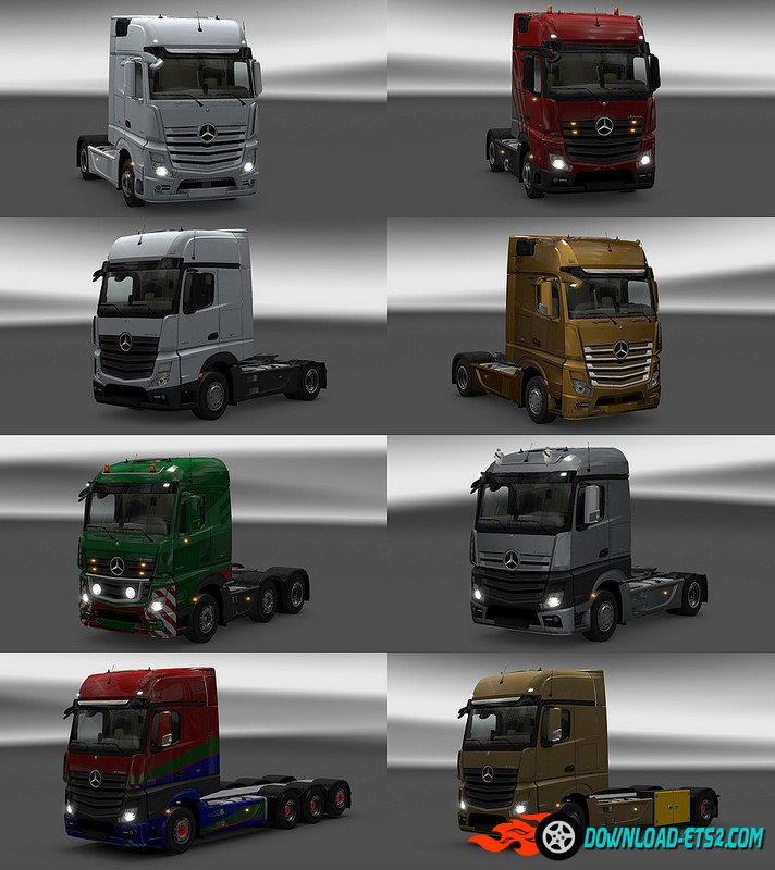 New Actros plastic parts and more v3.2.0