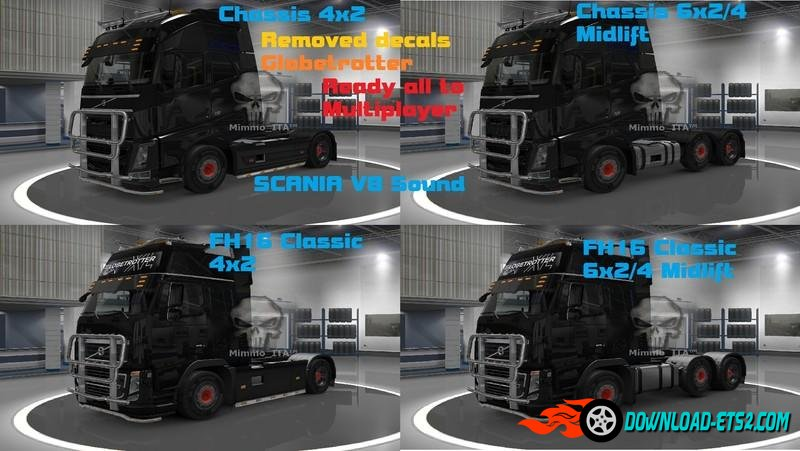 Volvo Pack LightPlus (Multiplayer) Ready V4r2