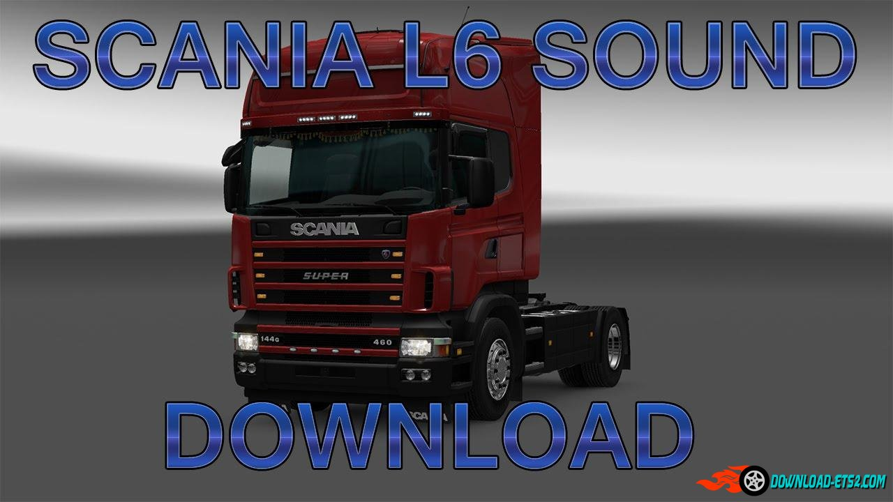 Scania L6 Engine sound v4