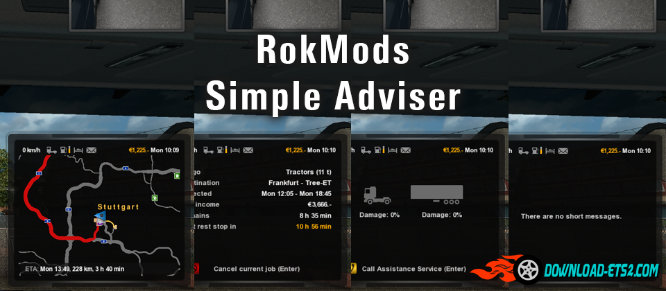 RokMods Simple Adviser