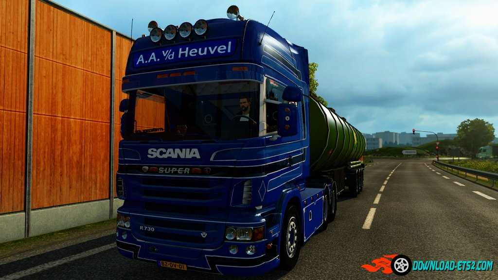 Scania R730 A.A.V.D.Heuvel Edition v1.0
