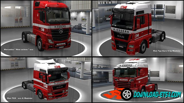 """H. Essers"" SkinPack for all Trucks"