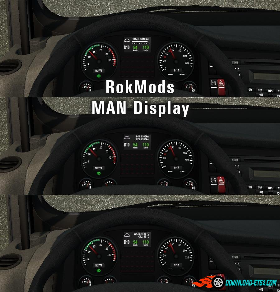 RokMods MAN Display