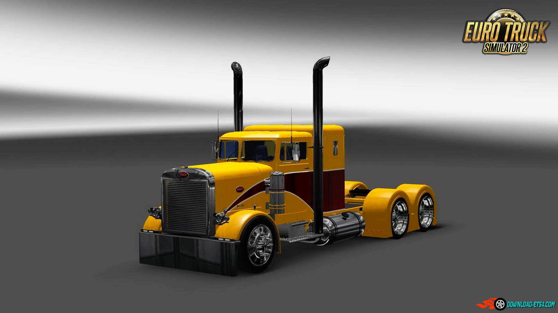Peterbilt 351 Yellow Peril Skin v1.0 by Pauly