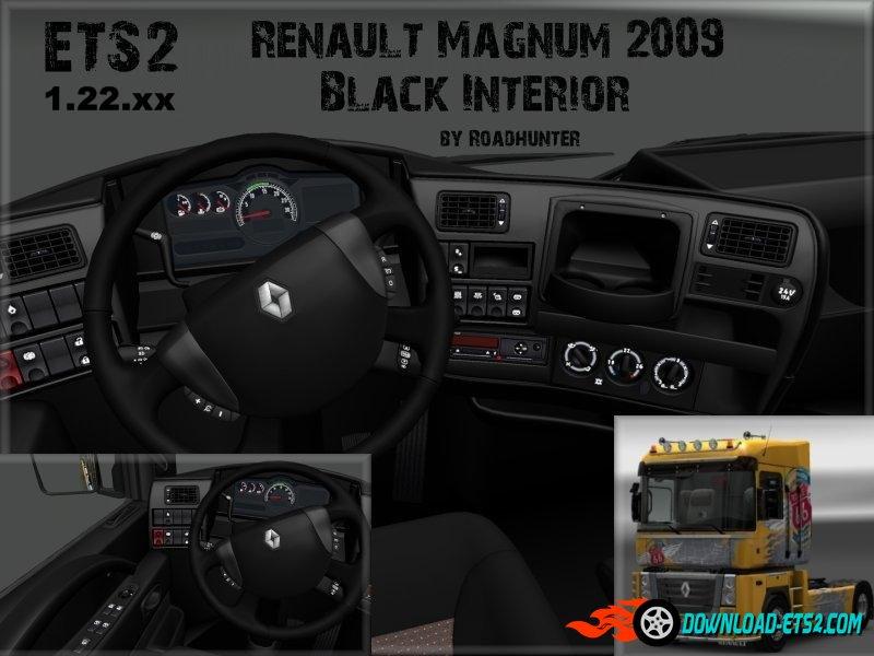 Renault Magnum 2009 Black Interior [1.22.x]