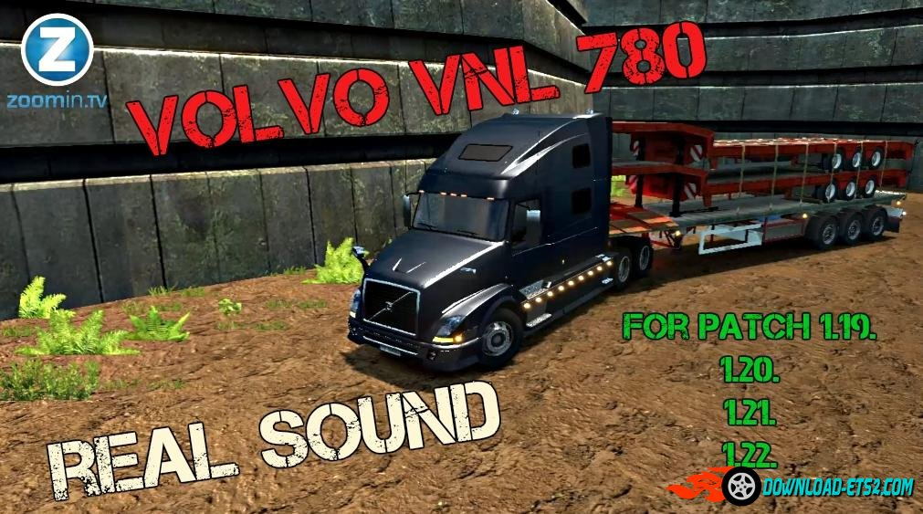 VOLVO VNL 780 + real sound
